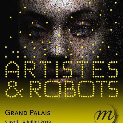 Intéressante exposition : artistes et robots