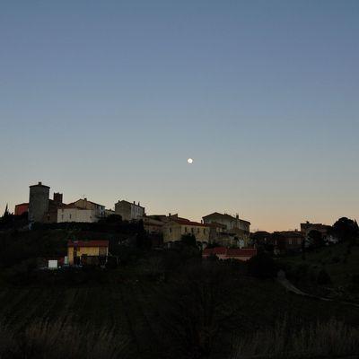 Montner et la pleine lune du 9 février 2017