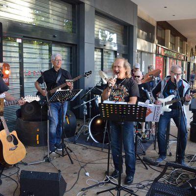 Le groupe des SIXTIES d'Algrange à la Fête de la Musique 2018 à Thionville et à Florange