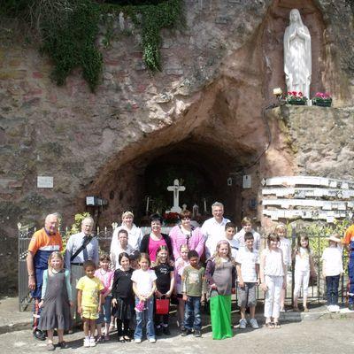 Fête du jeu, de l'A.C.E. à la grotte d'Algrange en 2011
