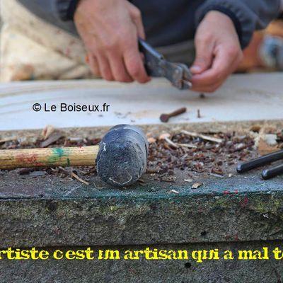 Un artiste c'est un artisan qui a mal tourné