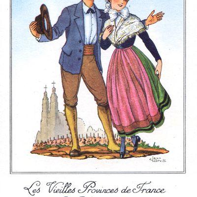 Touraine vieille province de France par les farines Jammet