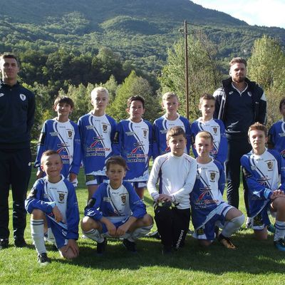 "ESTEBAN U13 SAISON 2017/2018 - 1ER TOUR COUPE DE FRANCE ""PITCH U13"" - CUINES 16 SEPTEMBRE 2017"
