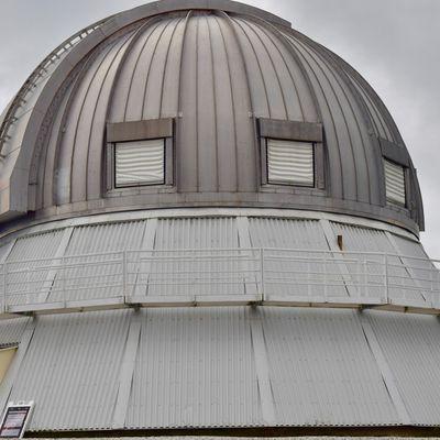 Visite du complexe astronomique du mont Mégantic