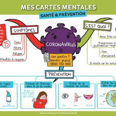 Ressources Coronavirus :  en parler aux élèves