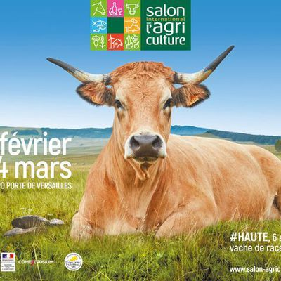 SALON INTERNATIONAL DE L'AGRICULTURE 2018 : 260 m² dédiés à la Région Centre-Val de Loire