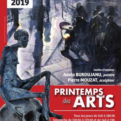 SALON PRINTEMPS DES ARTS - Association Galerie Pryvée - 18 au 26 mai – St Pryvé St Mesmin