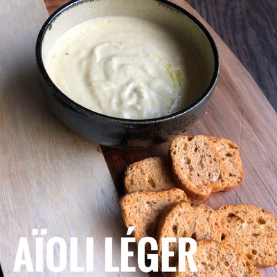 AIOLI LEGER AU THERMOMIX