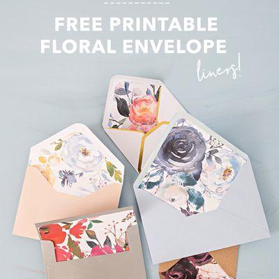 Papiers fleuris à imprimer