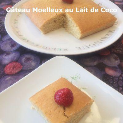 Gâteau Moelleux au Lait de Coco