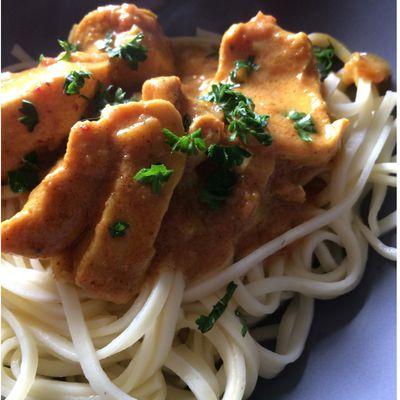 Volaille Curry Coco de Cyril Lignac