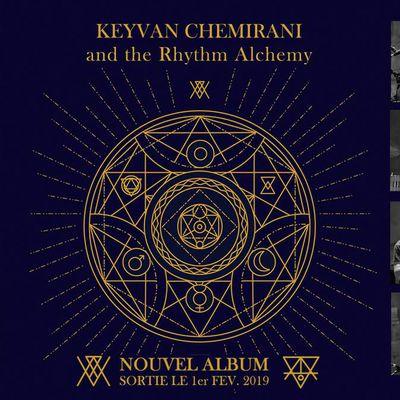 Keyvan Cheminari donnera un concert exceptionnel sous sa formation The Rhythm Alchemy, à l'occasion de la sortie de leur album éponyme.