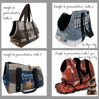 Commander un sac personnalisé pour votre petit chien