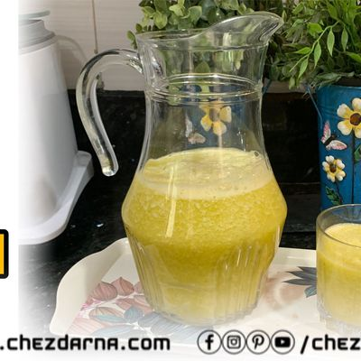 smoothie au concombre et orange/orange and cucumber smoothie/عصير البرتقال و الخيار