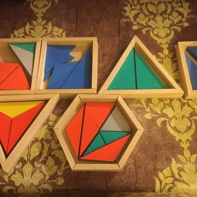 boîtes des triangles constructeurs
