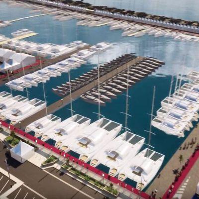 Inquiétude pour l'avenir de la voile sur le Yachting Festival de Cannes