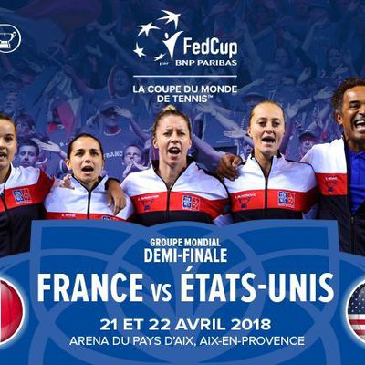 [Infos TV] Tennis - La 1/2 Finale de Fed Cup France / USA sur beIN SPORTS et France TV !
