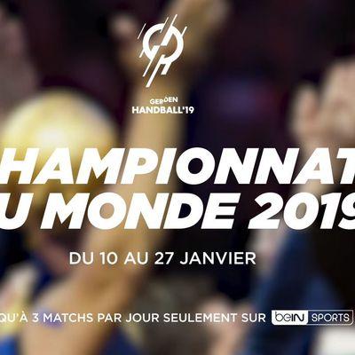 [Hand] le Mondial de Handball masculin à suivre du 10 au 27/01 sur beIN SPORTS !