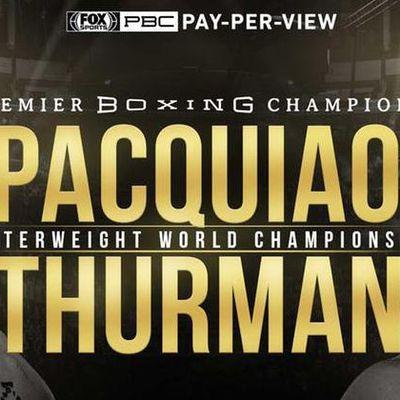 [Boxe] Manny Pacquiao vs. Keith Thurman dans la nuit de samedi à dimanche sur RMC Sport 1 !