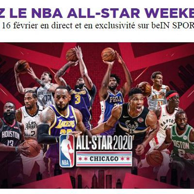 [Basket] Le NBA All Star Weekend du 14 au 16 février en direct et en exclusivité sur beIN SPORTS 1 !