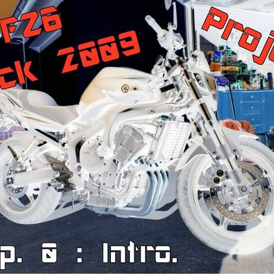 New PROJET - FZ6 Black 2009 CUSTOM