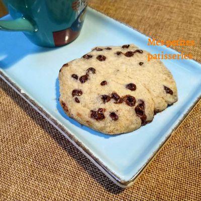Cookie vegan au micro ondes
