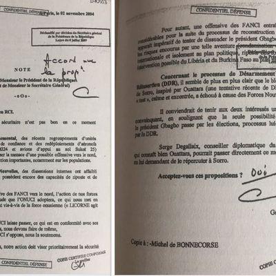 #Rébellion2004 / Le général Georgelin l'affirme : Soro est bien le fils de Ouattara...et ce sont eux les responsables de la guerre civile (#Chiracsavait #LaPresseaussi)