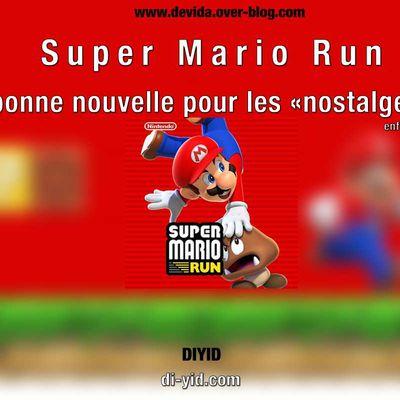 Super Mario Run : une bonne nouvelle pour les nostalgiques...enfin presque