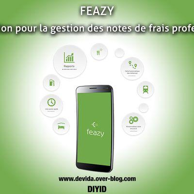 Feazy: une solution pour la gestion des notes de frais professionnels