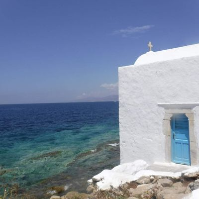 Les Cyclades.
