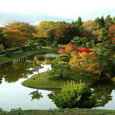 "Kyôto : Le Shûgakuin Rikiyû 修学院離宮, ou ""palais impérial détaché de Shûgakuin"