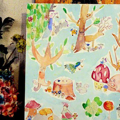 Les projets des enfants en arts plastiques