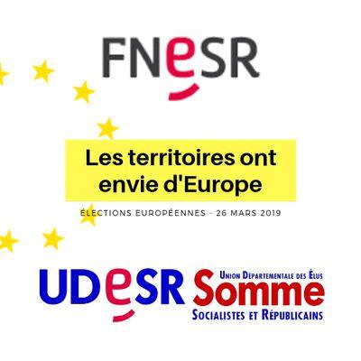 FNESR - UDESR80 : Les territoires ont envie d'Europe !