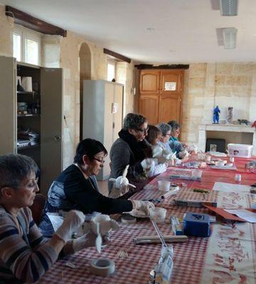 Atelier du 21 janvier à Pompignac