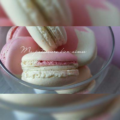 Macarons ganache intense vanille Pierre Hermé