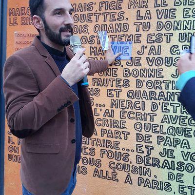 Vernissage du projet L'ART ET VOUS – Le jeudi 19 octobre