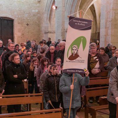 Ste Colombe - Fête Sainte-Bernadette 2017
