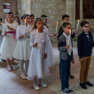 Premières communions Moirax 9 juin 2019