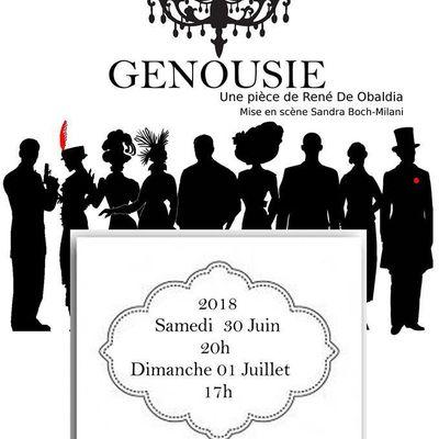"""""""Genousie"""" de René de Obaldia"""