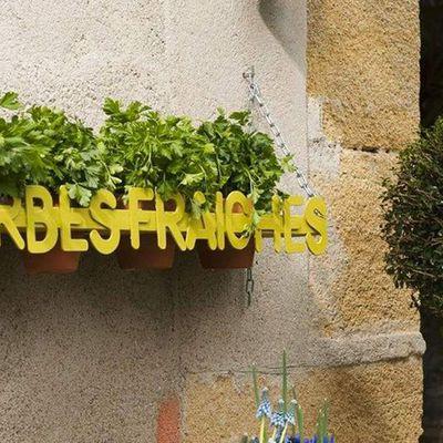 Outlet!!!, tuto et teck recyclé au Jardin de Catherine