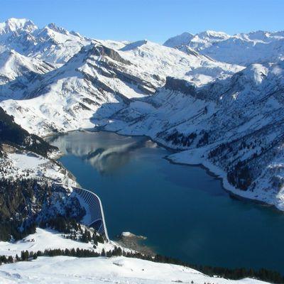 Les grands barrages de Savoie