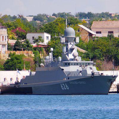 La marine russe hybride ses petits navires