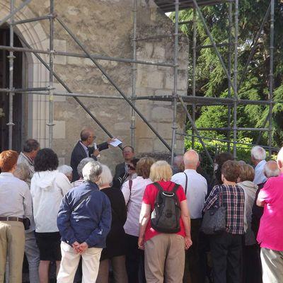 Visite par la SAT du patrimoine de Preuilly