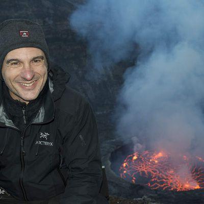 Livre et exposition photos sur les volcans avec Florent Mamelle
