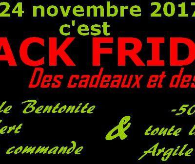 Black Friday, c'est le 24 novembre