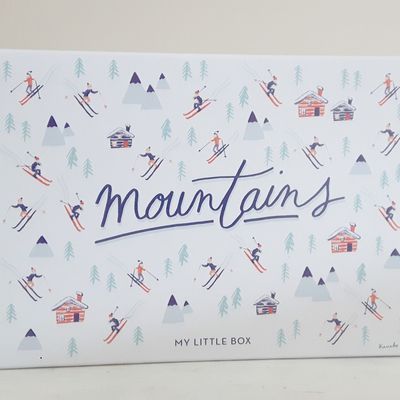 My little box de janvier: Mountains box