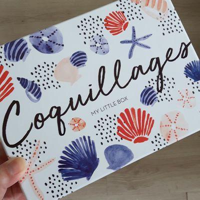 My little box de juillet: Coquillage