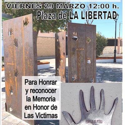 Homenaje de Santa Elena a las Víctimas del Terrorismo