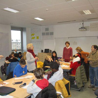 Projet Différences: l'Association Bibliothèque Braille Enfantine avec les CM2a