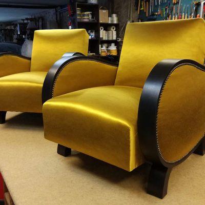 """Réfection fauteuils """"Studio"""""""